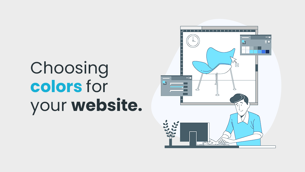 How to pick out the proper color for your website?