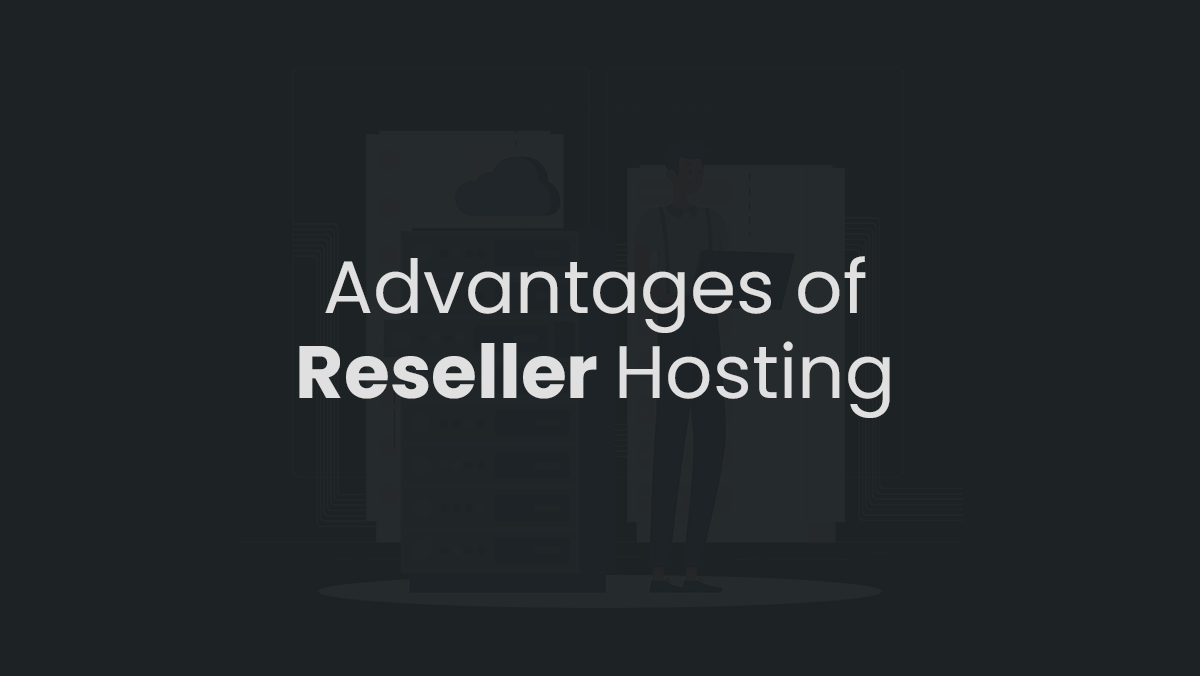Benefits of  Reseller Hosting   That may change your approach